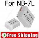 Camera NB-7L NE7L Li-ion Battery for Canon PowerShot G10
