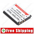 NP-110 NP-110DBA Camera Battery for Casio Exilim Pro EX-F1 Models