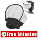 Cloth Lambency Soft Flash Bounce Diffuser for Camera Shoe Mount Flash