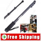 3-Section Extendable Hand Held Monopod with Tripod Mount for Camera