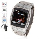 New Quad Band Java Bluetooth Touch Screen Watch Phone