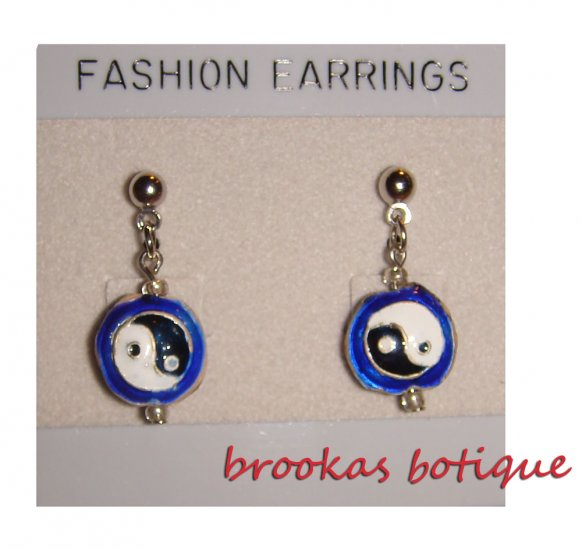 Yin- Yang Earrings