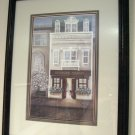 "SALE! Indiana Artist Linda Bennett ""THE JEWELER"" Framed Print"
