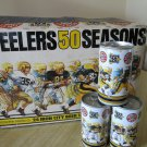 Collectible Iron City Beer Pittsburgh Steelers Beer Cans - Celebrating 50 Seasons 1 Case