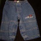 Baby Boys 3-6 Months Little Wonders Blue Jeans