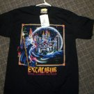 NEW WITH TAGS Excalibur Hotel - Casino - Las Vegas Black Shirt Size Medium