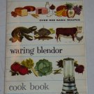 Vintage Waring Blender Cook Book