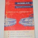 Vintage 1961 Rambler Classic/Ambassador Owner's Manual