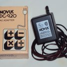 Novus DC920 AC Adapter for Calculator