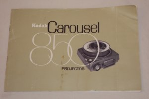 Vintage Kodak Carousel 850 Projector Owner�s Manual