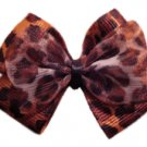 Sexy Leopard Hair-bow