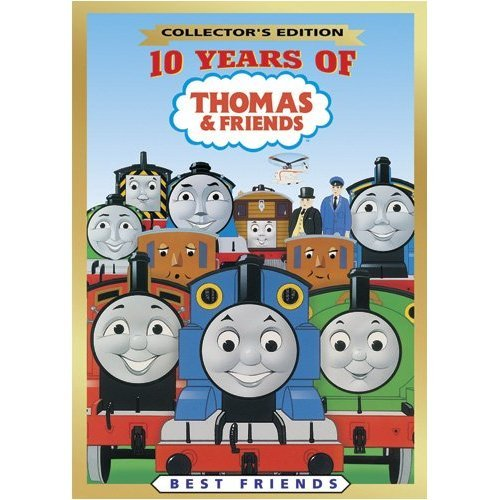 Collector's Edition: 10 Years of Thomas & Friends, Brand New, Sealed DVD!