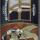 2006 Sweet Spot Update Sweet Beginnings Patches Josh Barfield #JO