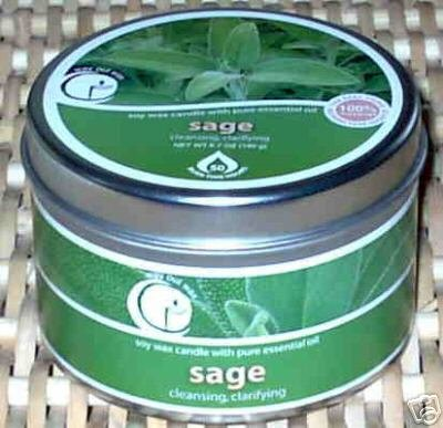 Sage Aromatherapy Soy Candle