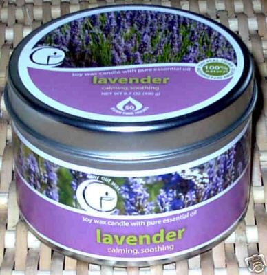 Lavender Aromatherapy Soy Candle