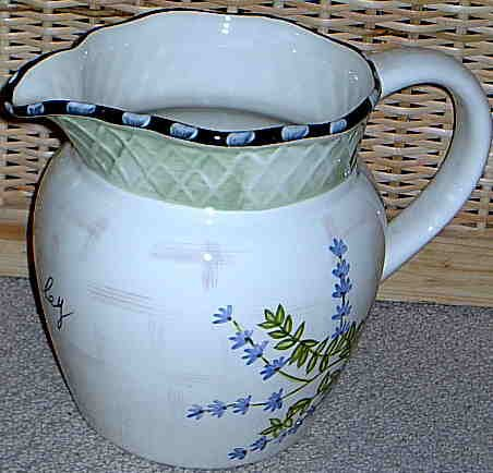 Herb Garden Pitcher