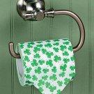 Shamrock Print Toilet Paper