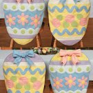 Easter Egg Chair Covers Set of 4