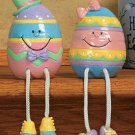 Easter Egg Dangle Leg Shelf Sitters