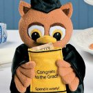 Graduation Plush Owl Money Holder
