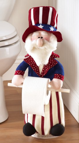 Uncle Sam Bathroom Toilet Paper Holder
