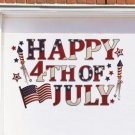 Happy 4th Of July Garage Door Magnet Set