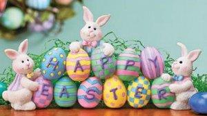 Easter Egg Bunny Centerpiece