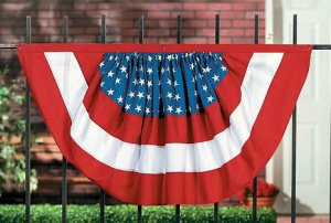 American Flag Woven Bunting
