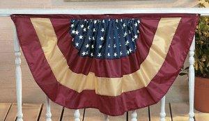 American Flag Nylon Bunting