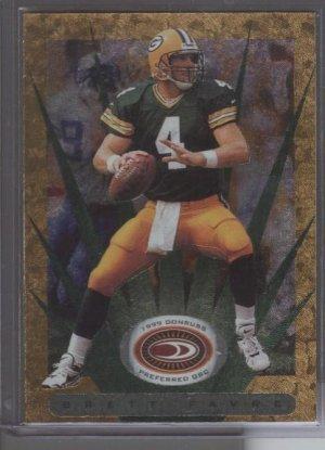 Brett Favre '99 Donruss QBC Gold