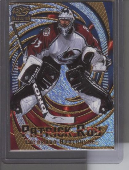 Patrick Roy 1998 Revolution Card