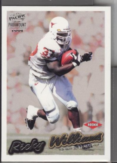 Ricky Williams Paramount ROOKIE card