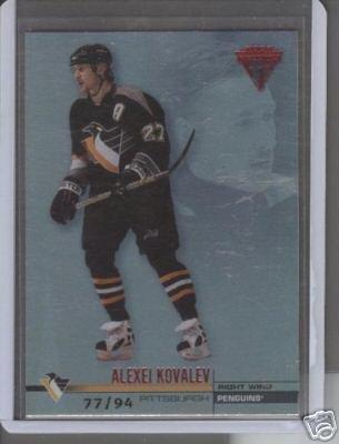 Alexei Kovalev 01-02 Titanium Hobby Parallel