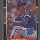 Greg Maddux 1987 Donruss ROOKIE Card