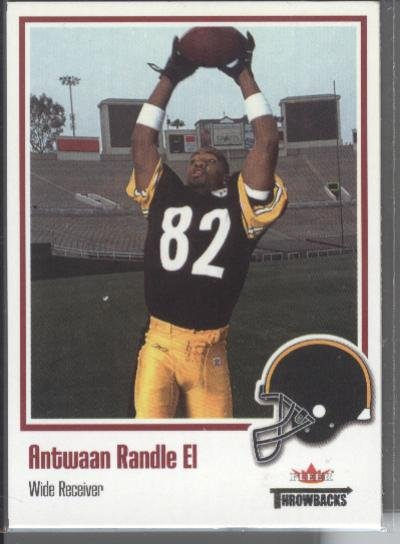 Antwaan Randle El '02 Fleer Throwbacks Rookie