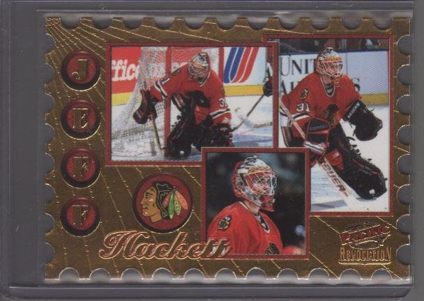 Jeff Hackett 98 Revolution Return to Sender Die Cut Card
