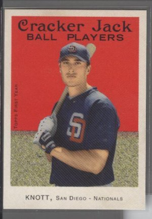 Jon Knott 04 Cracker Jack SP Rookie Card