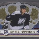 Chris Gratton 99-00 Crown Royale LTD. Series 35/99