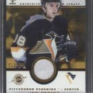 Jan Hrdina '02 Private Stock Jersey Card