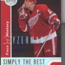 Steve Yzerman UD Simply the Best NR