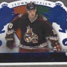 Tony Amonte Crown Royale BLUE Card
