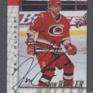 Kevin Haller '98 Pinnacle Be A Player Autograph