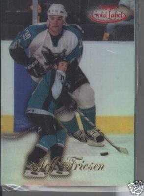 Jeff Friesen '99 Topps Gold Label Class 1 RED #d 98/100