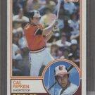 Cal Ripken 1983 Topps Card NR