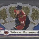 Andreas Karlsson '00 Royale Crown ROOKIE Card