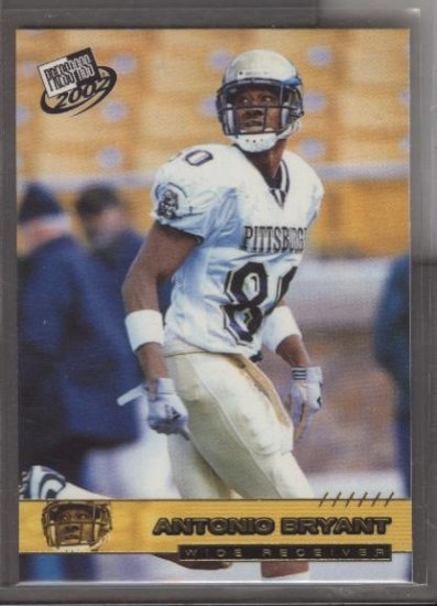Antonio Bryant PRESS PASS Rookie Card