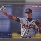 Chipper Jones 1992 UD Minor P.O.Y. Card