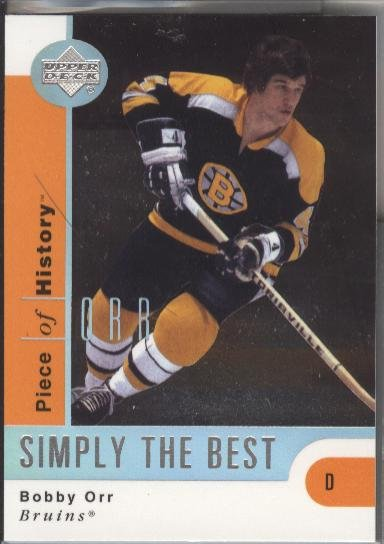 Bobby Orr UD Simply the Best