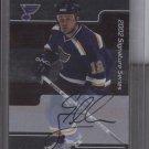 Cory Stillman'01-'02 BAP Signature Series Auto Card
