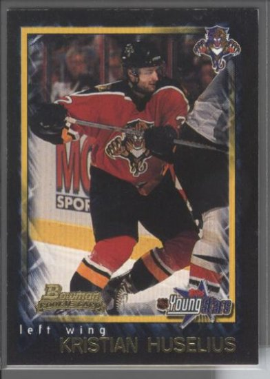 Kristian Huselius '02 Bowman Young Stars ROOKIE
